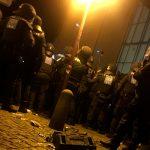 В Германии восемь полицейских пострадали во время беспорядков с участием праворадикалов