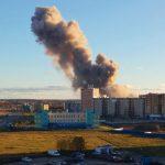 Под Петербургом произошел взрыв на заводе пиротехники