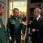 В России прошли переговоры Хулуси Акара и Сергея Шойгу