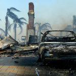 Лесной пожар уничтожил город в Калифорнии
