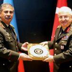 Министр обороны Закир Гасанов встретился с начальником Генштаба Турции
