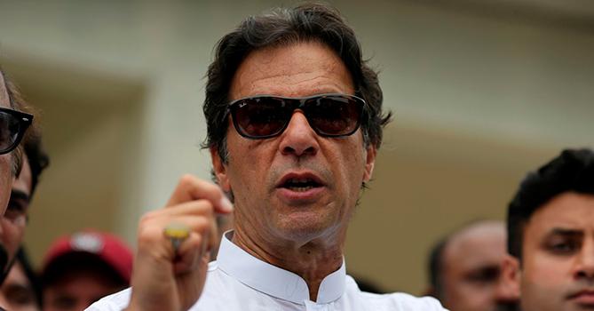 Имран Хан: Пакистан больше не является прибежищем боевиков