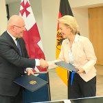 Между Грузией и Германией подписано соглашение о военном сотрудничестве
