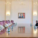 Президент Ильхам Алиев принял делегацию во главе с министром внутренних дел Саудовской Аравии