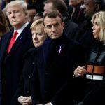 Меркель перепутали с женой Макрона во Франции