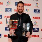 Месси был вручен приз лучшему игроку Ла Лиги в сезоне-2017/18