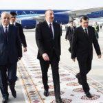 Ильхам Алиев прибыл с официальным визитом в Туркменистан