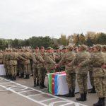 В воинских частях Азербайджана состоялась церемония принятия военной присяги