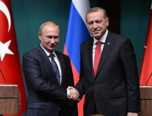 Эрдоган приедет на переговоры в Москву в апреле