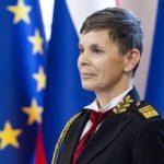 Главой Генштаба ВС Словении впервые назначили женщину