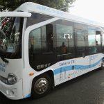 В Японии  тестируют беспилотные пассажирские автобусы