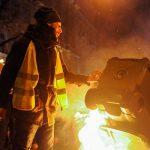 """Десятки протестующих против """"закона о рабстве"""" задержаны в Будапеште"""