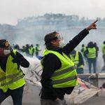 Около 1,5 тысяч человек приняли участие в воскресных манифестациях «желтых жилетов» в Париже