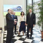 Ильхам Алиев принял участие в открытии третьего корпуса Национального музея искусств Азербайджана