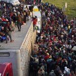 Около 800 мигрантов задержали при попытке пересечь границу США