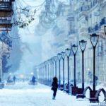 Этой ночью в Азербайджан придет зима