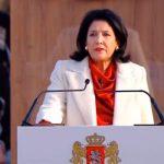 Саломе Зурабишвили официально вступила в должность президента Грузии