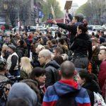 Общенациональная акция протеста проходит в самом центре Белграда
