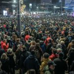 Сербы протестуют против политики президента