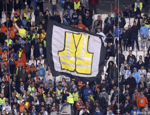«Желтые жилеты» во Франции требуют отставки Макрона