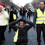 В Париже продолжаются протесты «желтых жилетов»