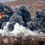 База с войсками США на севере Багдада подверглась ракетному обстрелу