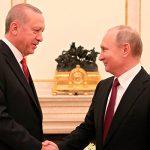 Эрдоган и Путин обсудили ситуацию в Нагорном Карабахе
