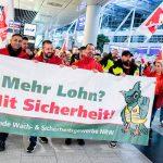 15 января забастовка служб безопасности охватит восемь аэропортов Германии
