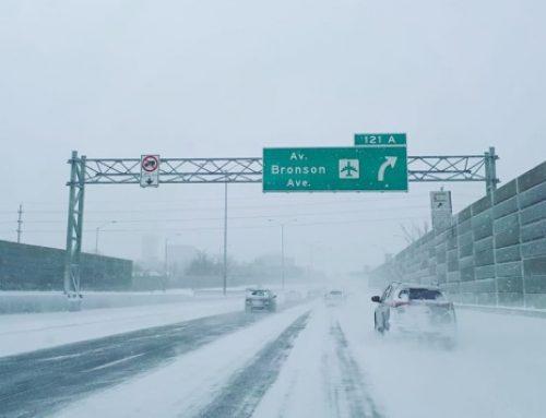 На Канаду обрушились мощные снегопады