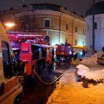В одном из зданий Киево-Печерской лавры вспыхнул пожар