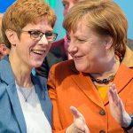 Ангела Меркель не видит в Аннегрет Крамп-Карренбауэр нового канцлера Германии