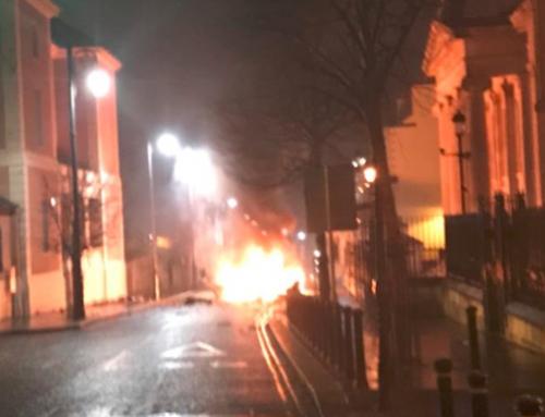 В Северной Ирландии произошел взрыв
