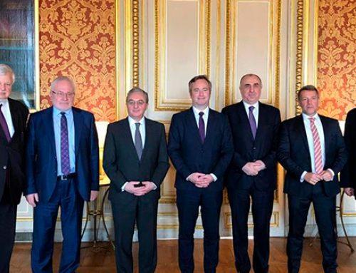 В Париже главы МИД Азербайджана и Армении провели переговоры