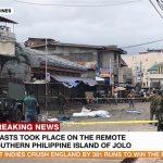 Два взрыва в церкви на Филиппинах унесли жизни 19 человек
