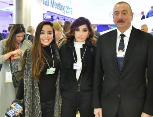 Ильхам Алиев и Мехрибан Алиева в Давосе проводят рабочие встречи
