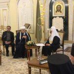 Аллахшукюр Пашазаде обратился к Патриарху Кириллу с просьбой построить мечеть в Москве