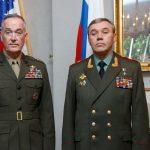 Главы генштабов России и США договорились не разглашать детали переговоров