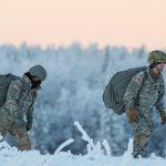 В Финляндии проходят учения США и Эстонии по ведению боевых действий зимой
