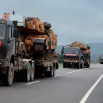 Турецкая бронетехника стягивается на границу с Сирией