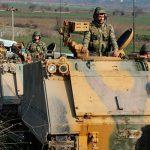 Продолжается стягивание турецких войск к сирийской границе