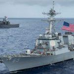 В Балтийское море вошли два эсминца США