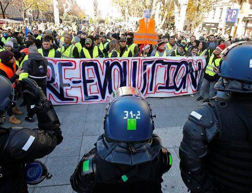 Число задержанных в Париже превысило 40