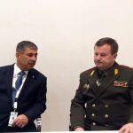 Состоялась встреча министров обороны Азербайджана и Беларуси