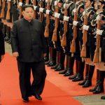 Ким Чен Ын посетил Кымсусанский дворец по случаю Дня сияющей звезды