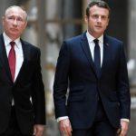 Макрон о встрече с Путиным