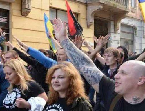 Неонацисты устроили факельное шествие в столице Болгарии