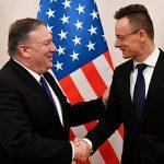 Помпео призвал Венгрию поддержать Украину