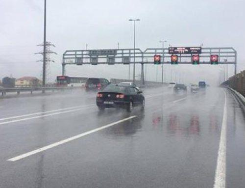 На дорогах Баку снижена скорость движения автомобилей