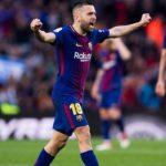 «Барселона» продлила контракт с защитником Жорди Альбой