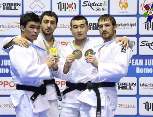 Азербайджанский дзюдоист выиграл в Риме